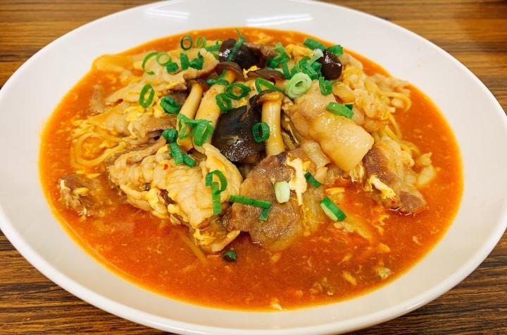 簡単スンドゥブ麺