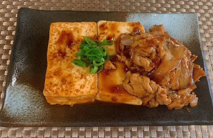 ご飯がススム生姜焼き風 豆腐ステーキ