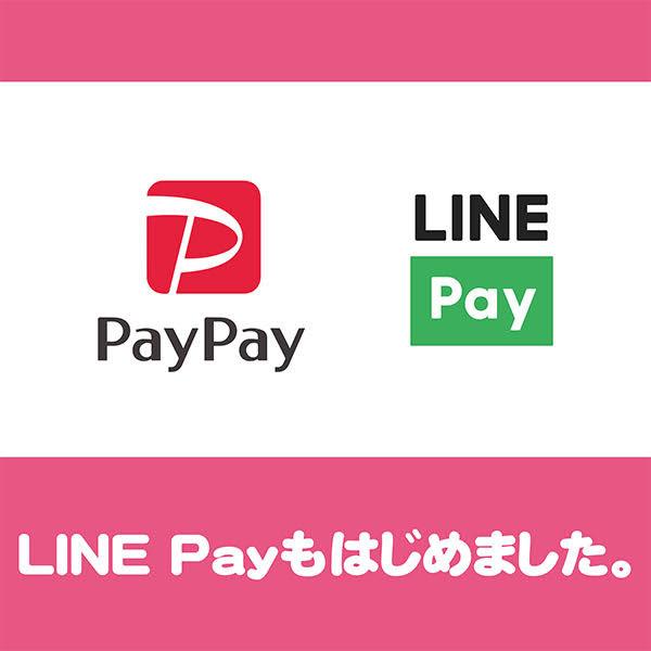 LINE Payもご利用いただけるようになりました