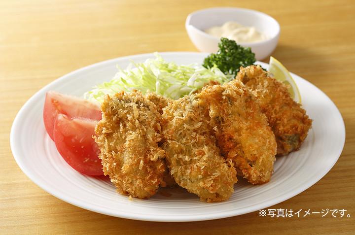 広島県産カキ使用「カキフライ」